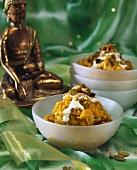 Indian lentil dish (dahl)