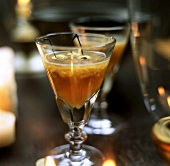 Kirschpunsch mit Calvados