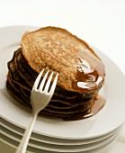 Wattleseed Pancakes (Pfannkuchen mit Akaziensamen)
