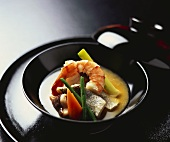 Asian seafood and fish soup