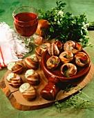 Snails Burgundy style