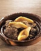 Lamb tajine with pears and honey