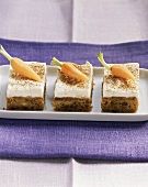 Tray-baked carrot cake with mascarpone cream
