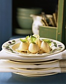 Mousse di verdure con cracker al parmigiano (Appetiser)