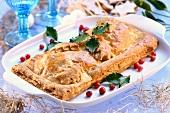 Kulebiak (Christmas pie, Poland)