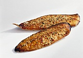 Smoked mackerel fillets with spices