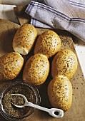 Caraway rolls