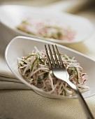 Raw radish salad