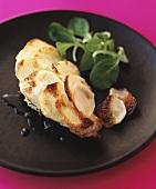 Chicken breast with potato crust