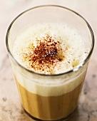 Kaffee Brasseur, coffee with egg, beer and rum
