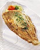 Sole, Miller's wife style, with lemon and parsley