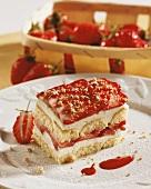 Erdbeer-Mascarpone-Schnitte