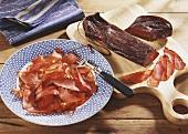 Air-dried beef ham