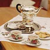 East Frisian tea in pot and cups