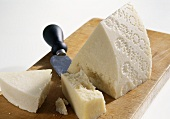 Pecorino romano with Parmesan knife
