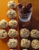 Orange and date macaroons