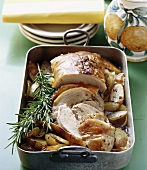 Arista alla fiorentina (Roast pork with rosemary, Italy)