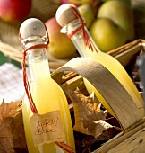 Apple and pear juice