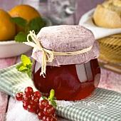 Redcurrant and orange jelly