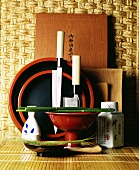 Crockery and cooking utensils from Asia