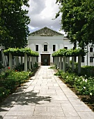 Winery (KMW headquarters) in Paarl, S. Africa