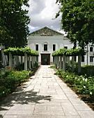 Winery (KMW headquarters) in Paarl, S. Africa