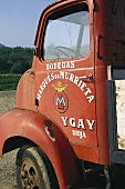 Old lorry at Bodega Marques de Murrieta Winery, Rioja