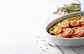 Briam (Vegetable casserole, Greece)