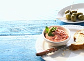 Taramosalata (Fish roe paste, Greece)