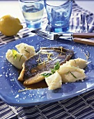 John Dory fillet with mashed potato