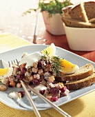 Rossolje (Herring salad, Estonia)