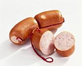 Regensburg sausages
