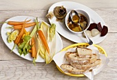 Bagna cauda (Dipping sauce for vegetables, Piedmont, Italy)