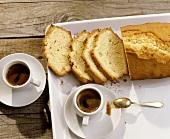 Torta sabbiosa (sand cake), Piedmont, Italy