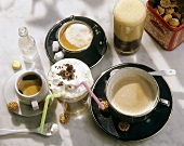 Coffee specialities from Italy
