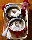 Kaffee Amsterdam (coffee with advocaat and cream)