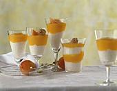 Joghurt-Milchreis mit Aprikosensauce