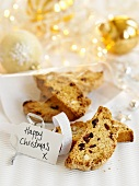 Biscotti for Christmas