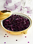 Red cabbage with apple (for Christmas)