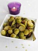 Brussels sprouts with chestnuts (to go with the Christmas meal)