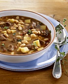 Goose soup with white beans (Speciality of Brandenburg)