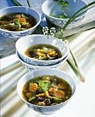 Möhrensuppe mit Ingwer und Zitronengras (Asien)
