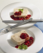 Poultry terrine with Cumberland sauce