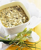Egg and herb sauce