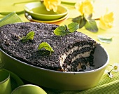 Mohnpielen (Poppy seed pudding)