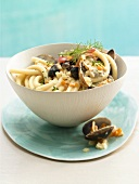 Pasta with shellfish ragout