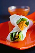 Spring rolls with vegetable filling (Vietnam)