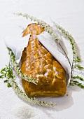 Kulebiak (Cabbage, egg and fish pie, Poland)