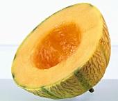 Half a musk melon