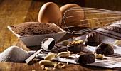Schokoladenkonfekt mit Zutaten